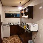 Avalon Motel Kitchen area