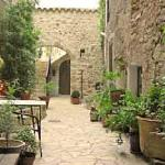 The Village House courtyard