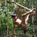 Monkey boy :)