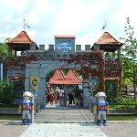 The entrance to Playmobil FunPark.