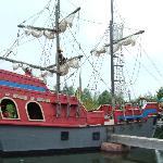 Arrrr... pirate ship.