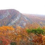 Deleware Water Gap from PA side in Fall.