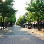 Hay Street, the main street in downtown Fayetteville