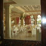 Vue de la salle à manger