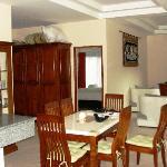 salon salle à manger du grand bungalow
