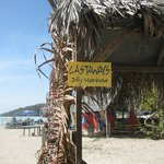 The only Castaway sign near the place