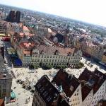 Vista sul Rynek (la piazza centrale).