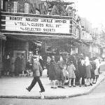 Penway Theater, State St., Harrisburg, Pa.. late 1940s. Photo: Ross J. Care (my dad). (I'm in th