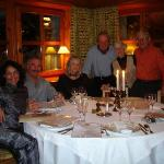 Isle's BD dinner at La Savoyarde in Val d' Isere, France