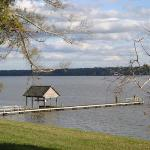 Dock at Westover Plantation on the James River