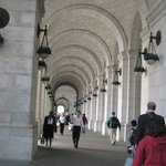 The Union Station.  Beautiful columns and archways.