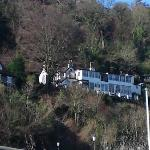 From Lynmouth car park zoom in