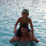 In the pool...AGAIN...Daytona 2007