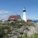 Portland Head Lighthouse -  even more sun!!!!