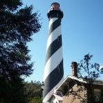 Lighthouse at St Augustine in Fla.
