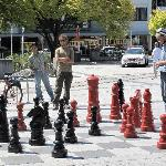 Chess game in Cathedral square.