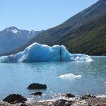 iceberg, as seen from the catamarán
