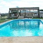 Built-in swimming pool