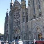 The magnificent Cathedral at Cobh (Cove)