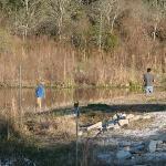 Picnic fishing area