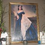 Scarlett painting in the Rhett Butler room