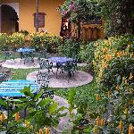 fountain/courtyard