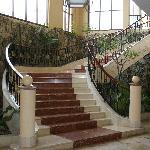Escalier du lobby