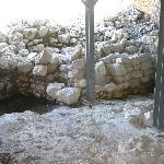 Walls of King David's palace
