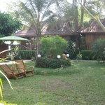 hotel gardens/rooms