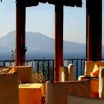 Sea view on the Capri island