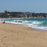 Gorgeous beach at Algarrobo