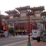 L'entree de Chinatown.