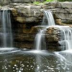 Man Made - A man-made waterfall.  Thought it was very peaceful sounding, but needed more foliage