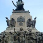 Monumento plaza Sn.Martín de Córdoba, Argentina.