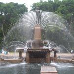 JM Archibald fountain