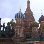 St. Basil's Cathedral. Red Square, Moscow.