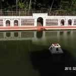The tali (well) at the temple in Mangeshi, Goa. (This town is where the playback singer Lata Man