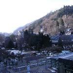 vue de l'hôtel début mars