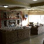 Warm and inviting lounge/lobby