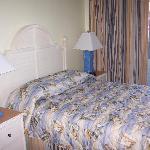 standard 1-bedroom timeshare bedroom