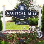 Nautical Mile Resorts Front Sign