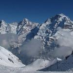 Eiger, Monch and Jungfrau mountains