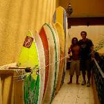try your hand with our surf lessons and board rental