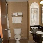 Clean, spotless, roomy, with all complimentary products