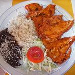 Yucatecan chicken plate