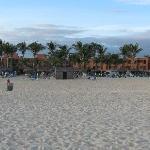 resort - from the beach