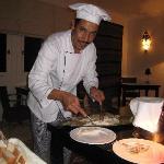 IBRAHIM : UN CHEF DOUE ET SOURIANT