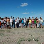 We are family. At Prineville Reservoir you see. Unh huh unh huh =]