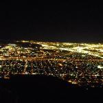 El Paso, TX from top of Rangers Peak