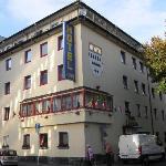 Außenansicht des Hotels Ludwig